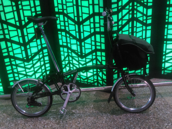 Brompton folding bike Brisbane Queensland