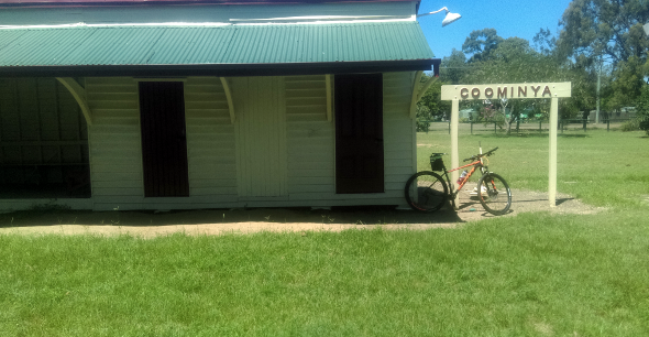 Cycling Coominya Queensland on the Brisbane Valley Rail Trail