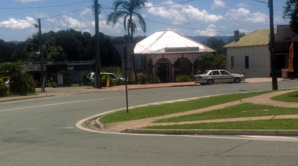 Lowood Queensland town centre