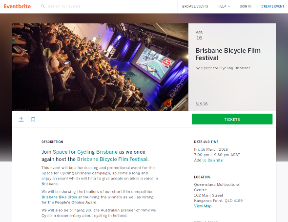 Brisbane Bicycle Film Festival