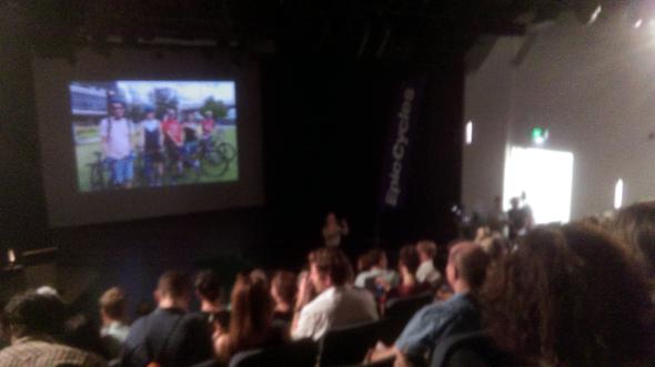 Movies at the Brisbane Bike Film Festival