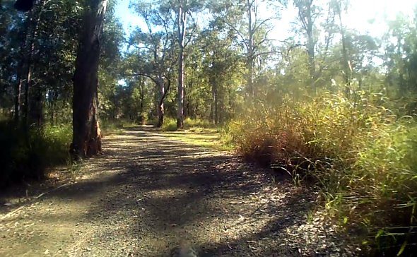 Interesting gravel road near Boondall