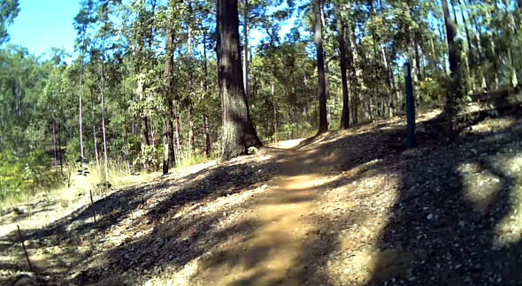 Singletrack at Bunyaville Queensland