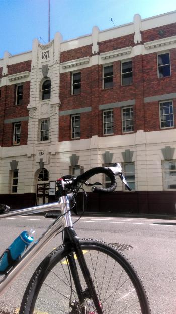 Adelaide Street historic building Brisbane