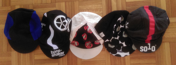 Cycling caps for any occasion