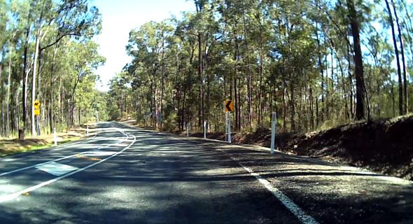 Bunya Road near Arana Hills