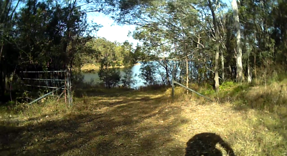 Lake Samsonvale trails for bicycles
