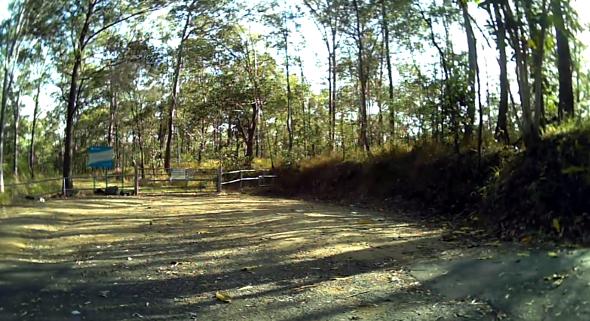 Trail head at Mcavin View Brisbane