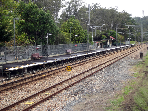 Mooloolah train station Queensland