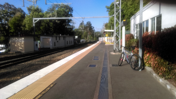 Nambour train station Queensland