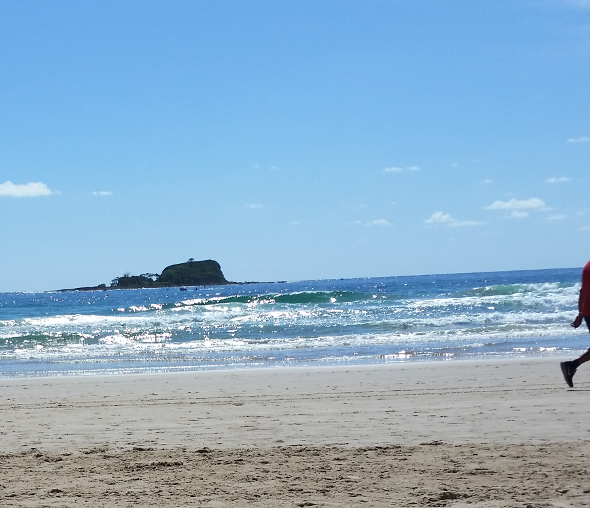 Sunshine Coast beach Queensland