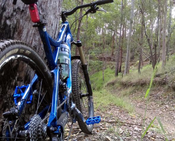 Mountain biking at Ironbark Gully