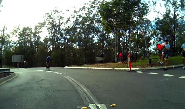 Mt Cootha Tour de Brisbane sideline motivators