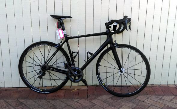 Trek Emonda prepared to race in the Tour de Brisbane