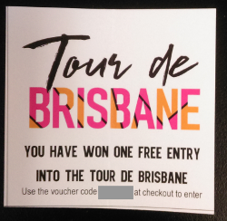 Tour de Brisbane free entry