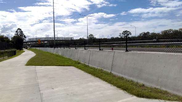 Deagon bikeway overpass