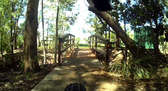 Bridge at Grange Forest Park