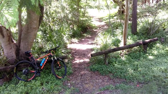 Grange Forest Park entrance