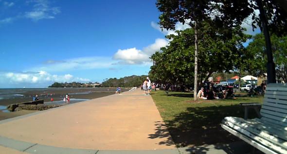 Sandgate foreshore Brisbane