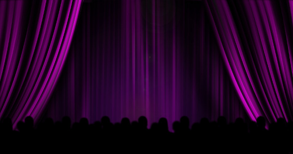 Intermission cinema curtains
