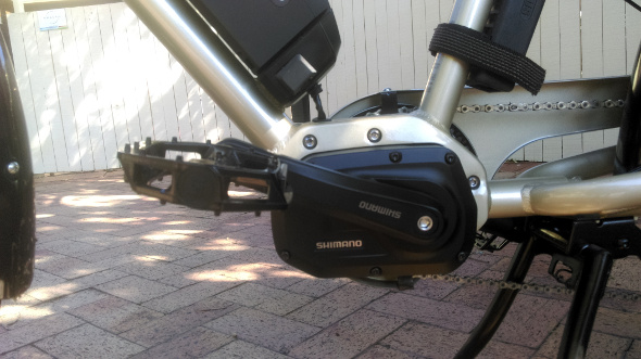 Shimano e6000 e-bike electric system