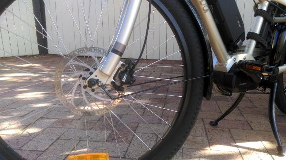 Yuba Boda Boda hydraulic disc brakes