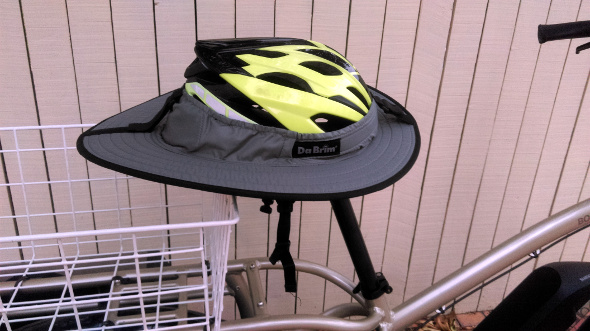 DaBrim helmet brim Sporty model