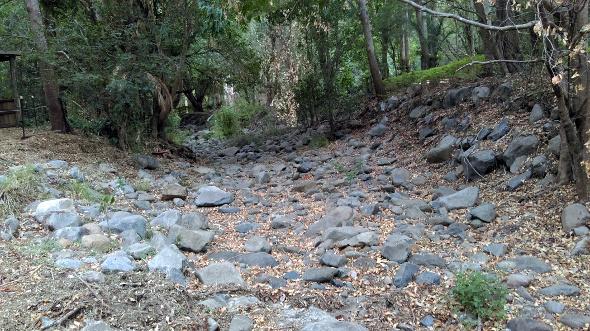 Dawsons Creek no water