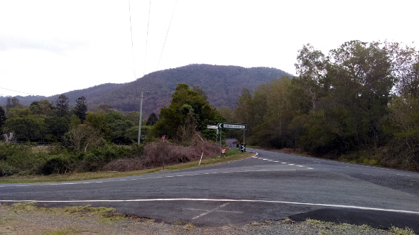 Mt Nebo from Dawsons Creek Rd