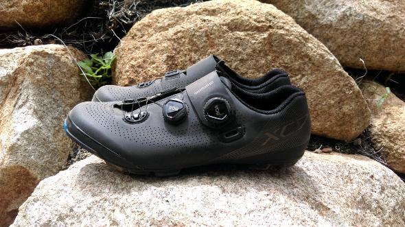 Shimano XC7 mountain bike shoes