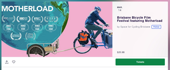 Get tickets for Motherload cargo bike documentary