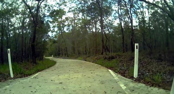 Bulimba Ck Bikeway concrete path
