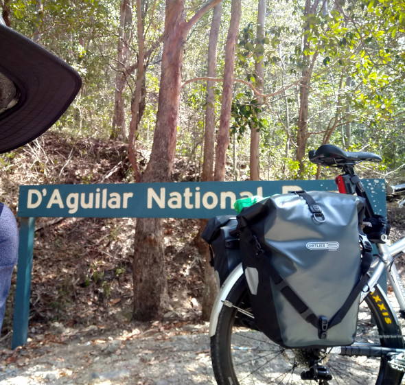 D'Aguilar National Park entranct Mt Glorious RRd