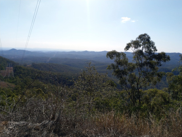 D'Aguilar National Park views
