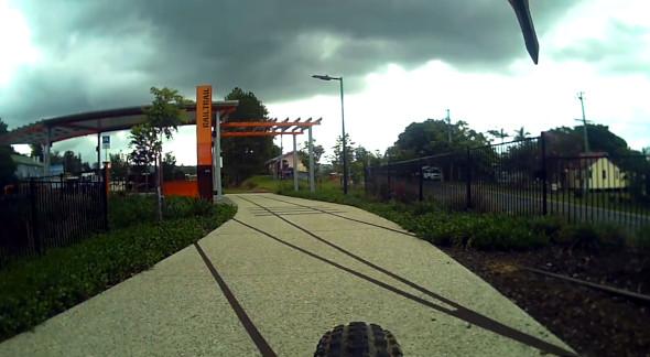 Wamuran rail trail end