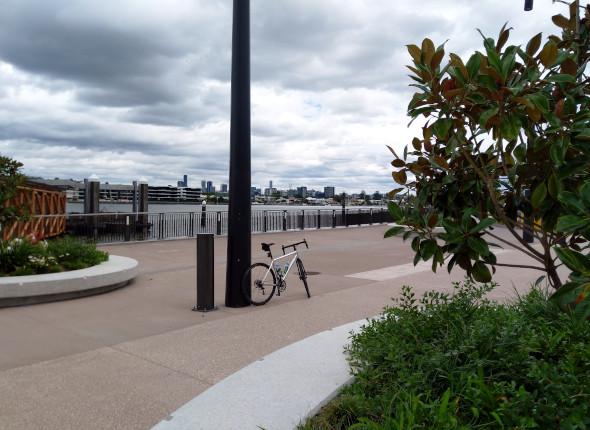 Brett's Wharf ferry terminal Brisbane