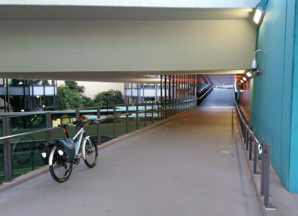 Lutwyche bikeway underpass Brisbane