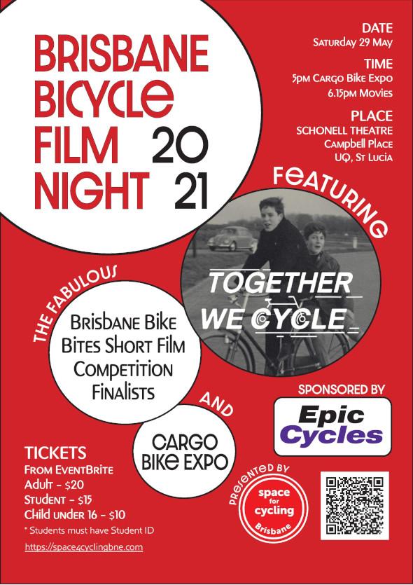 Brisbane Bicycle Film Night 2021