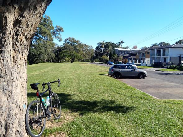 Road cycling on Brisbane's River Loop