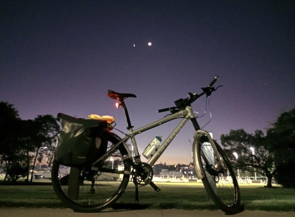 Bicycle commuting Albion Brisbane
